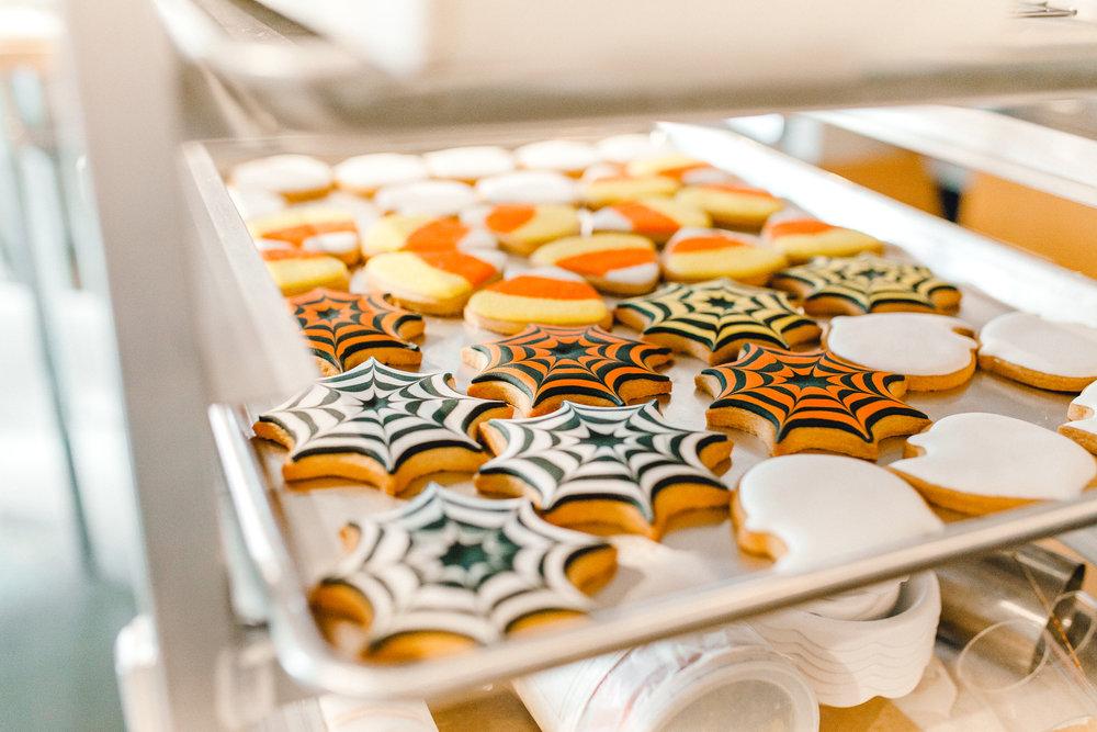 Sugarsuckle's Halloween cookies