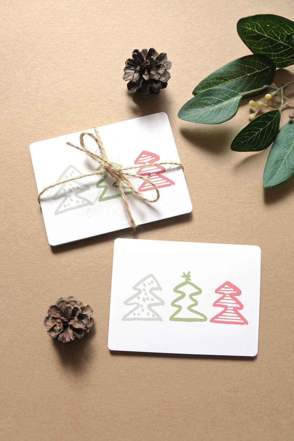 More Trees! Tree Trio Mini Note Cards available HERE