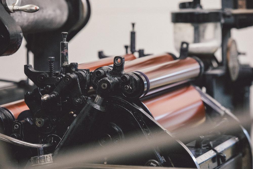 凸版印刷-海德堡機-letterpress-Heidelberg