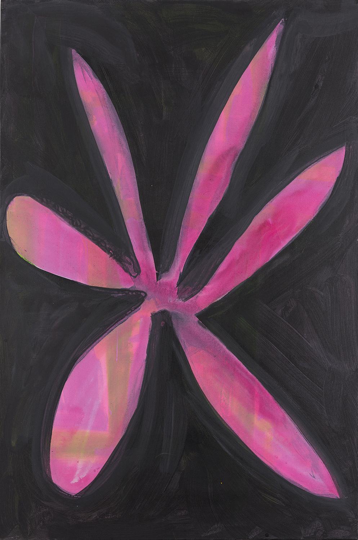 flower 12, violett, 2011 - 2015