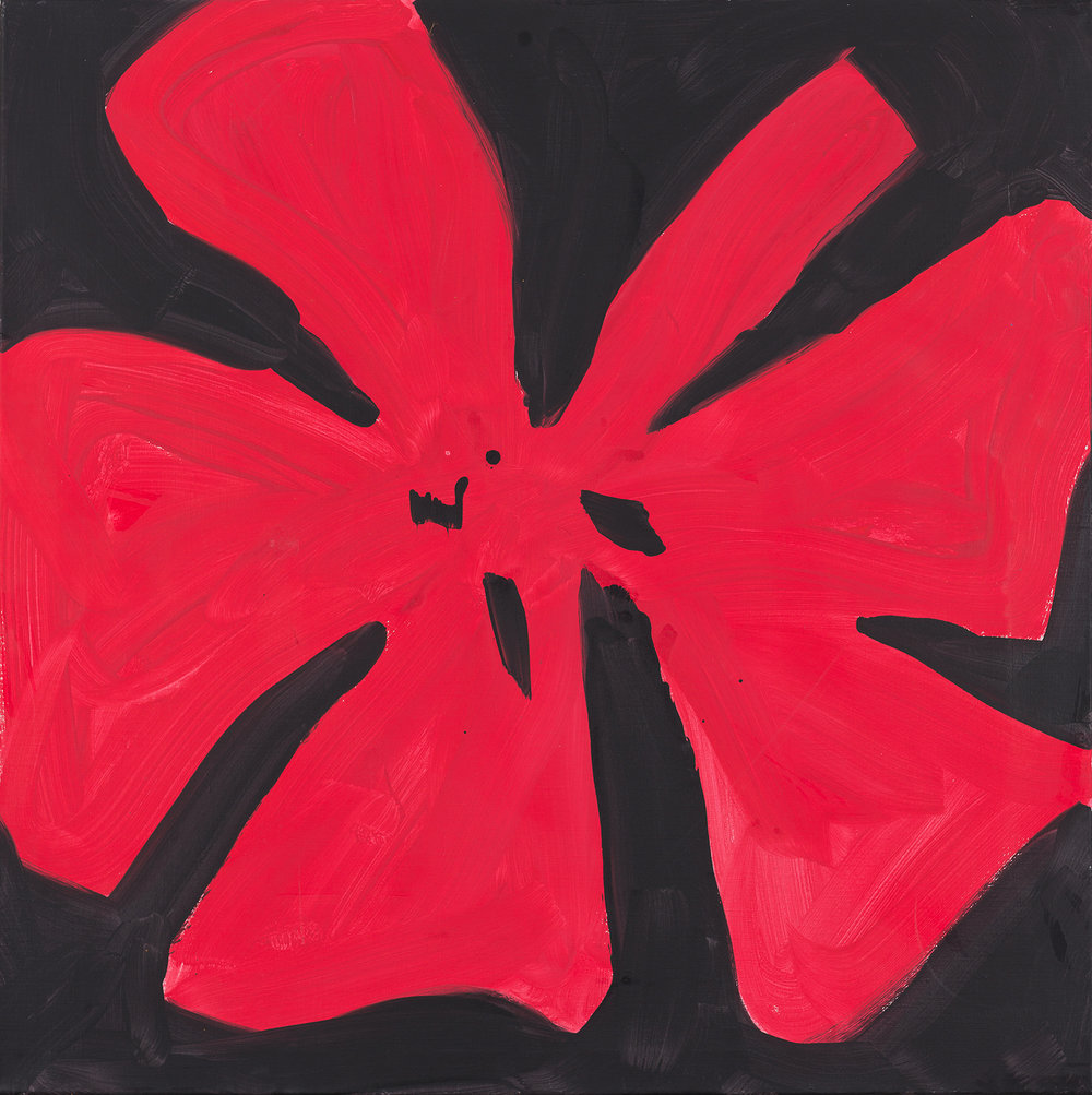 flower, red, 2014
