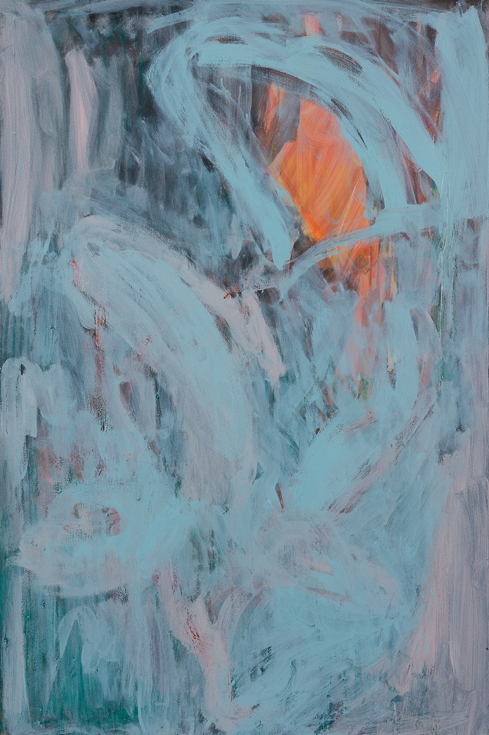 light blue, orange, 2011