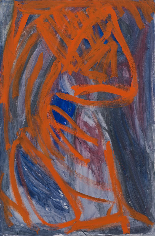 blue, orange, 2010