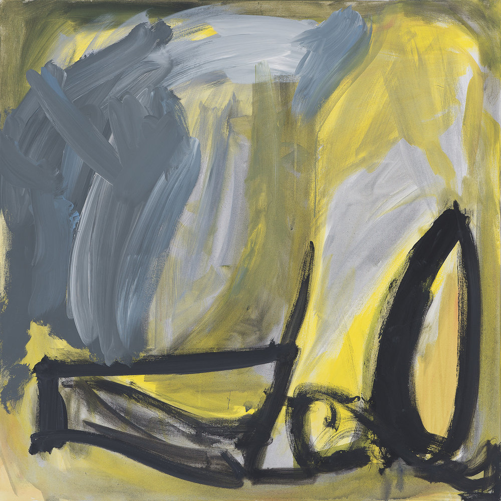 """B W"" yellow, grey, 2010"