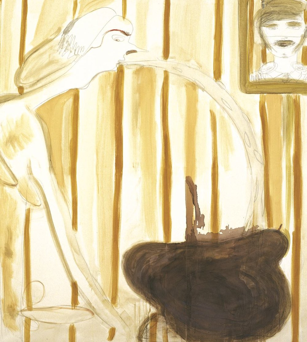 the widow (dedicated to Ficker), 2005