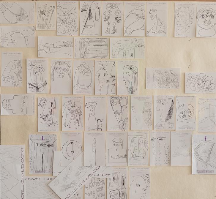 hotel-drawings, 2005 - 2014