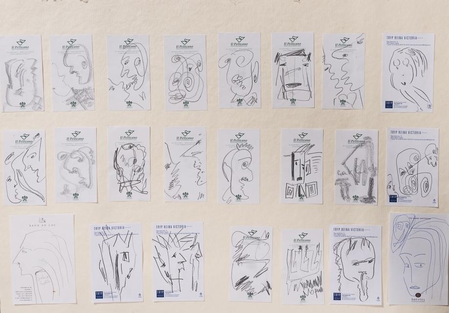hotel drawings, 2005 - 2014