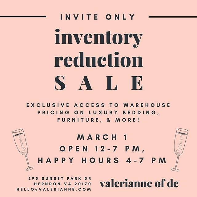 **update: check our stories for a sale preview!!! Tomorrow is the big day!!!! FYI exclusive first access and cocktails, just in case you're not on our mailing list: we got your back! Hope to see you there!!! #happiesthours #valerianne