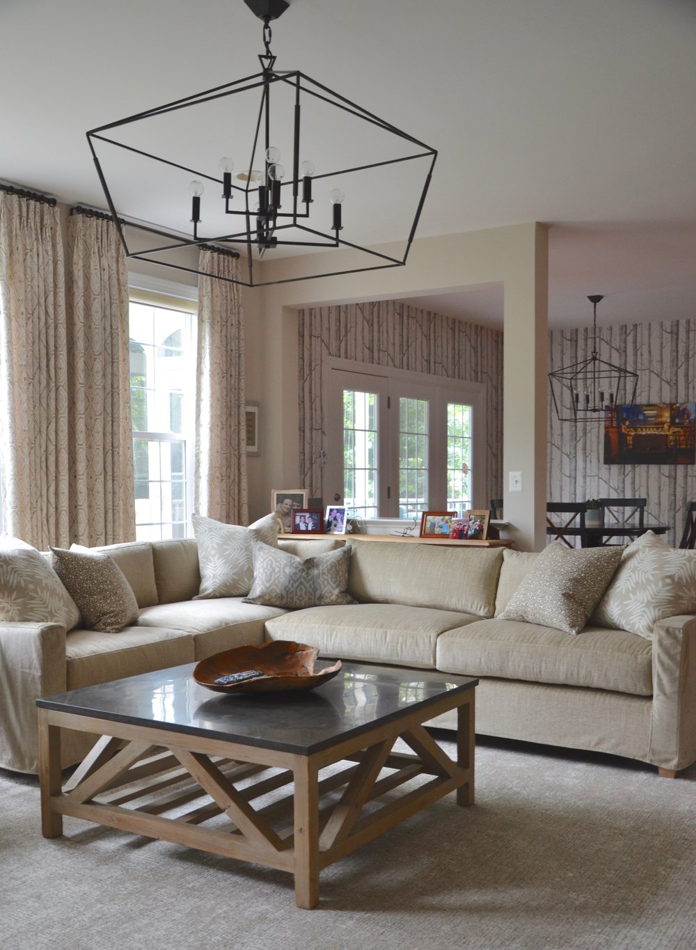 Client First Floor Refresh, Family Room and Eat In Kitchen in Herndon, Virginia