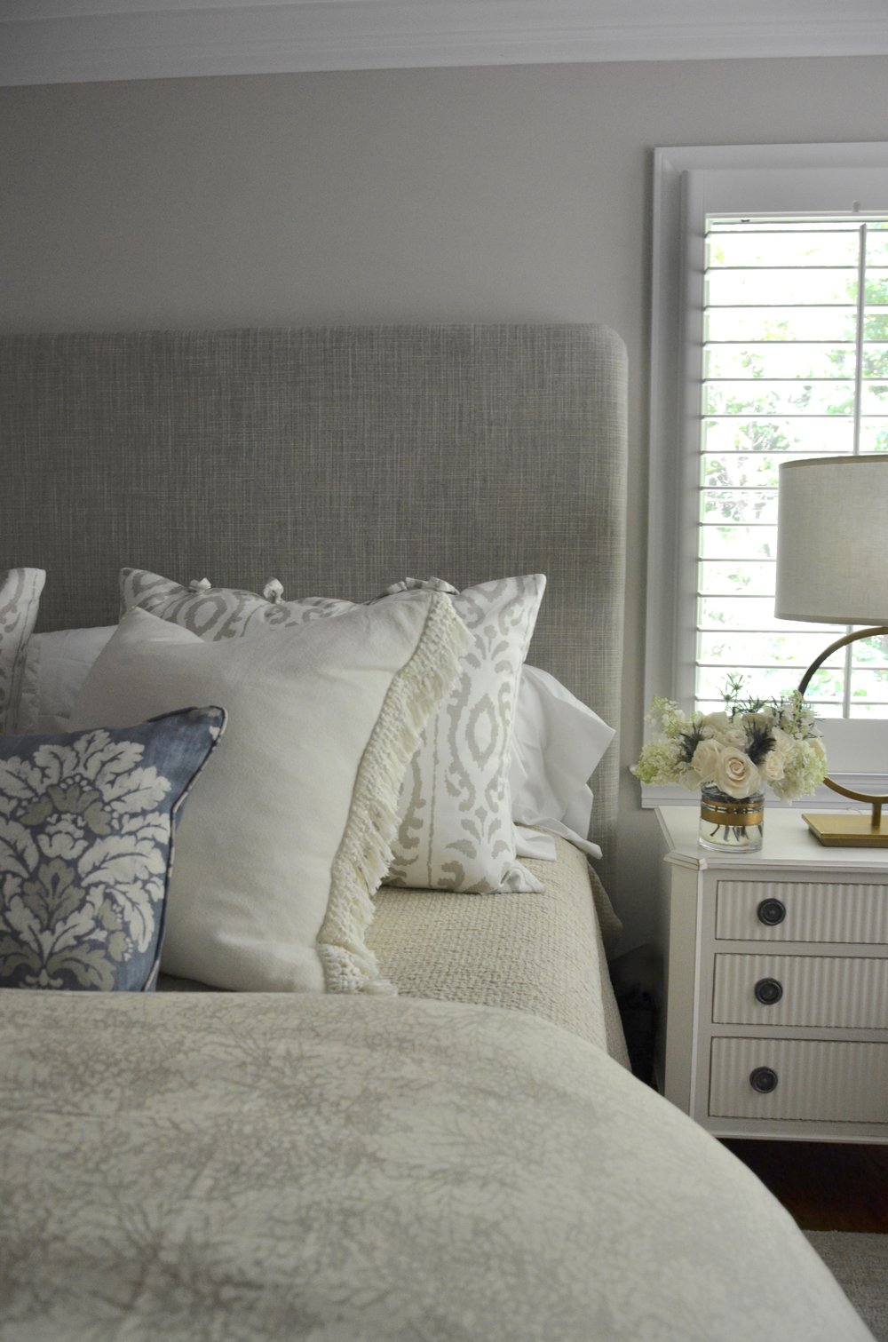 Master Bedroom Re Design in McLean, VA by Valerianne of DC