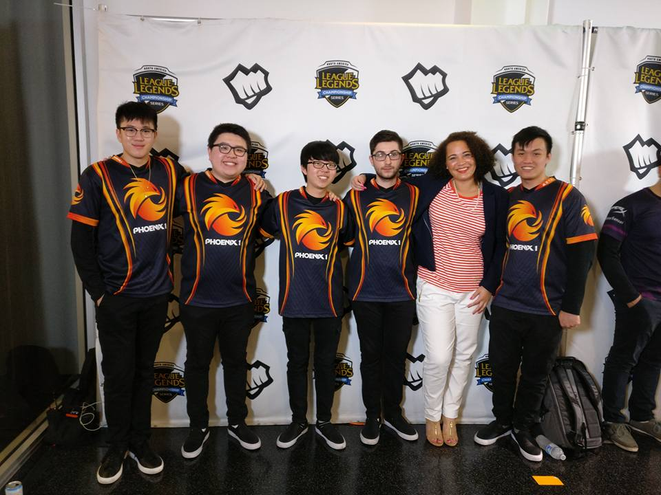 Me and the P1 team at LCS in Summer 2016.