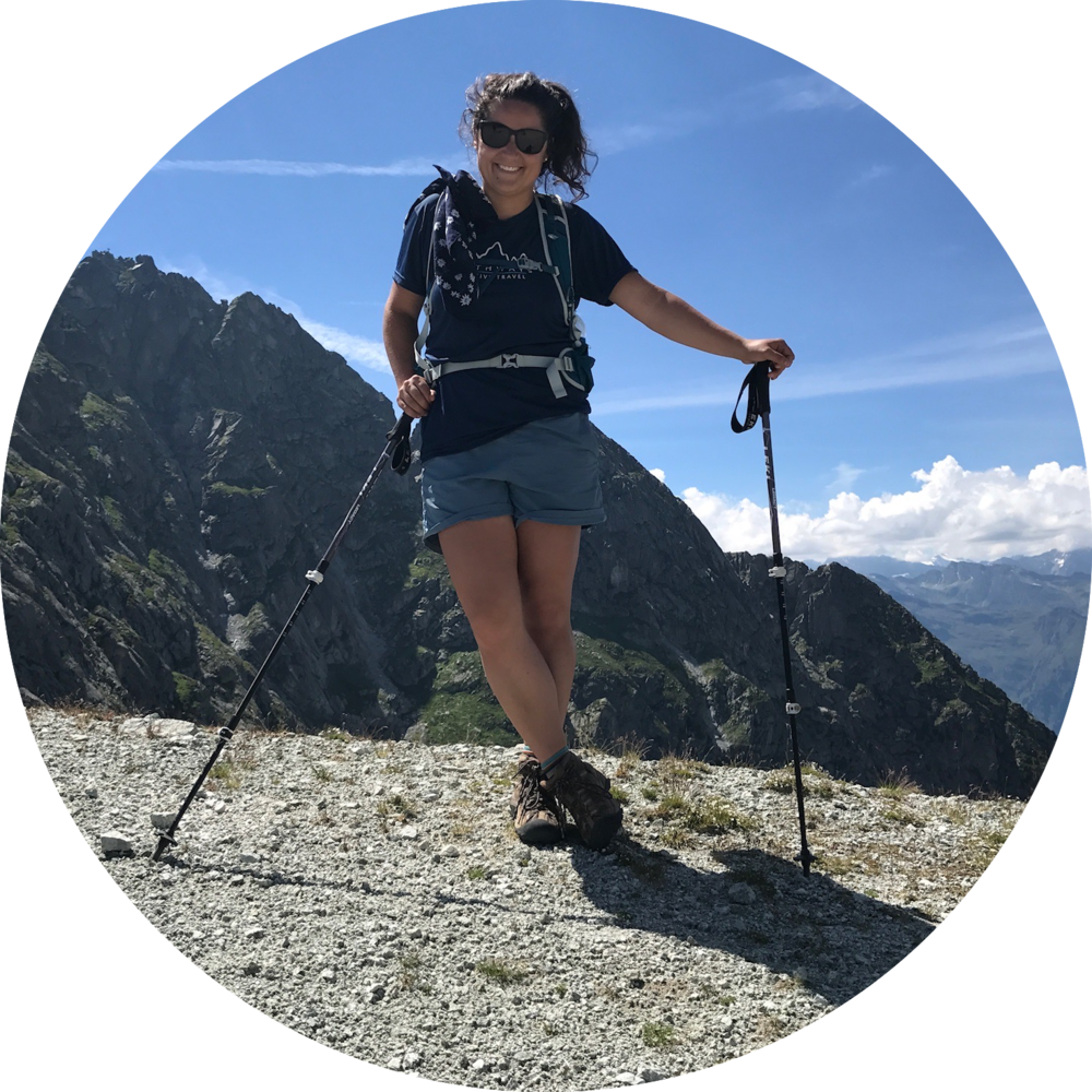 Sarah hiking in Merano | Summer 2017