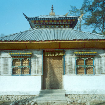 These temples are situated all around the camps. They are built by the peoples of the camps and they contain many beautiful paintings of the gods and goddess on the walls....