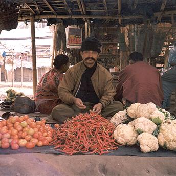 Market stall    Prem/ PhotoVoice / LWF