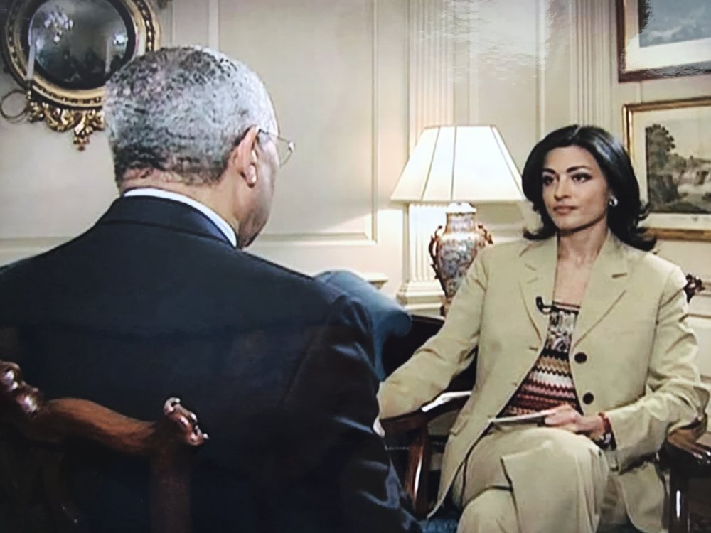 Copy of Donald Rumsfeld and Ghida Fakhry