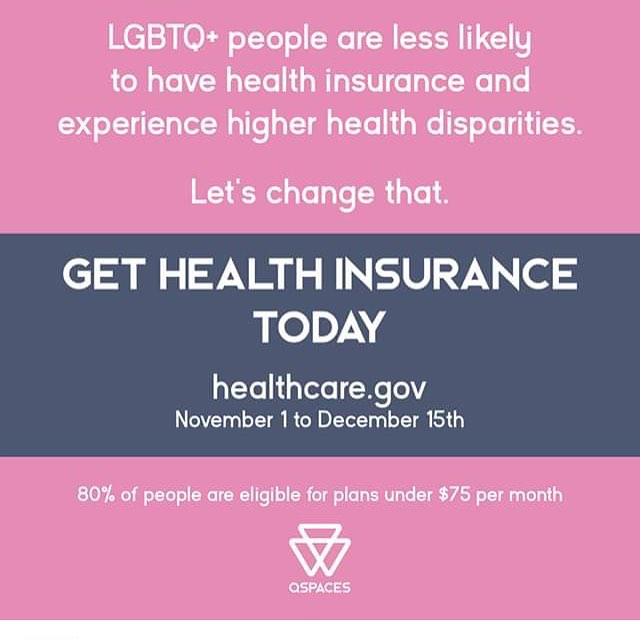 Sign up ASAP and tell your friends, neighbors, family, and coworkers. Go to healthcare.gov now.  There's a shorter signup period and little to no advertising due to the current administration's attempted dismantling of our affordable healthcare system. #lgbt #lgbtq #health #healthcare #insurance #fucktrump #lgbthealth #lgbtqhealth #transhealth #bi #gay #lesbian #queer #trans