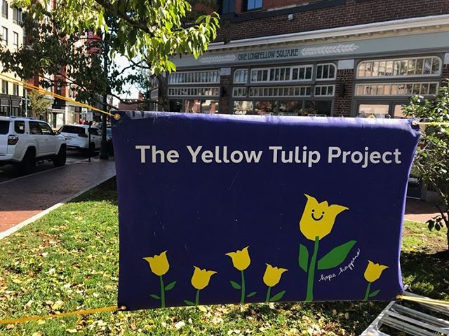 We did it! Thank you to everyone who spoke, performed, volunteered, and came to our 3rd Annual Community Hope Garden Planting! It takes a village, and we couldn't have pulled it off without the help from all of our supporters. This event proves hope really does happen and that when we come together, we can smash the stigma! 💛🌷 #TheYellowTulipProject