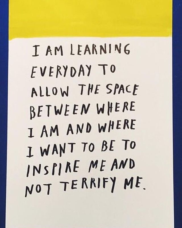 Happy #WisdomWednesday! Life can be very overwhelming and stressful. Whenever possible, try to let your fears inspire you💛🌷 #TheYellowTulipProject