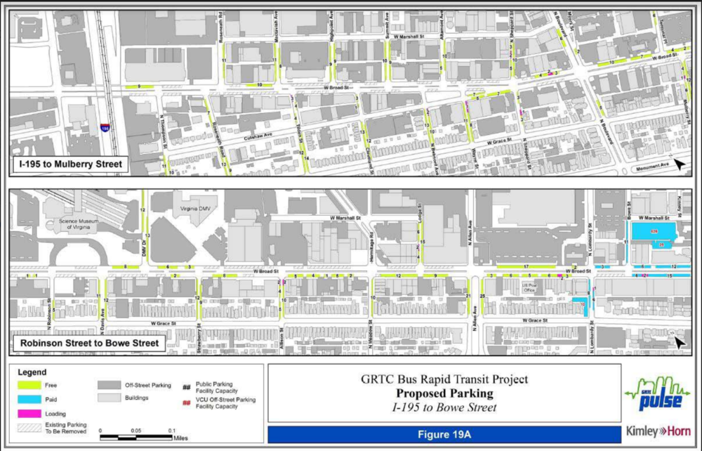 Parking Inventory - I-195 to Bowe Street