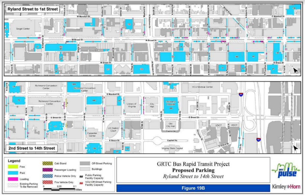 Parking Inventory - Ryland St to 14th St