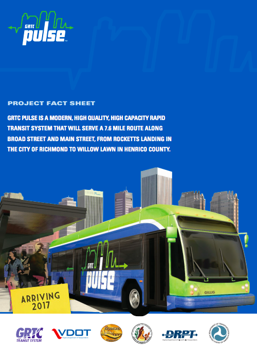 GRTC Pulse Fact Sheet