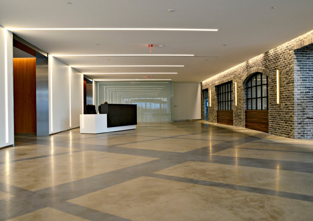 80 M Street - Polished & Stained Concrete