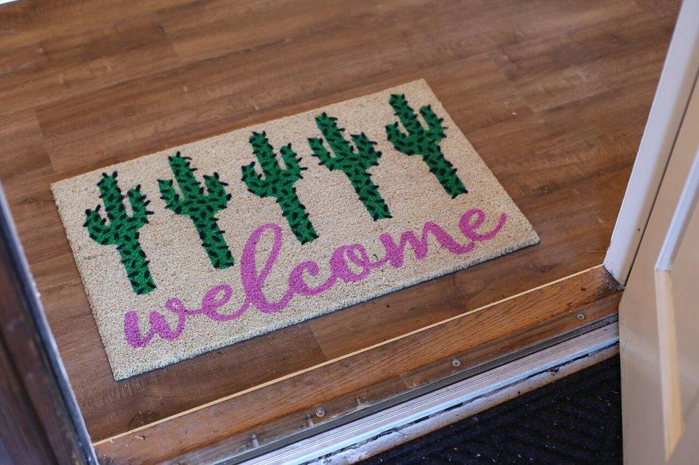 Shop Cactus Doormat