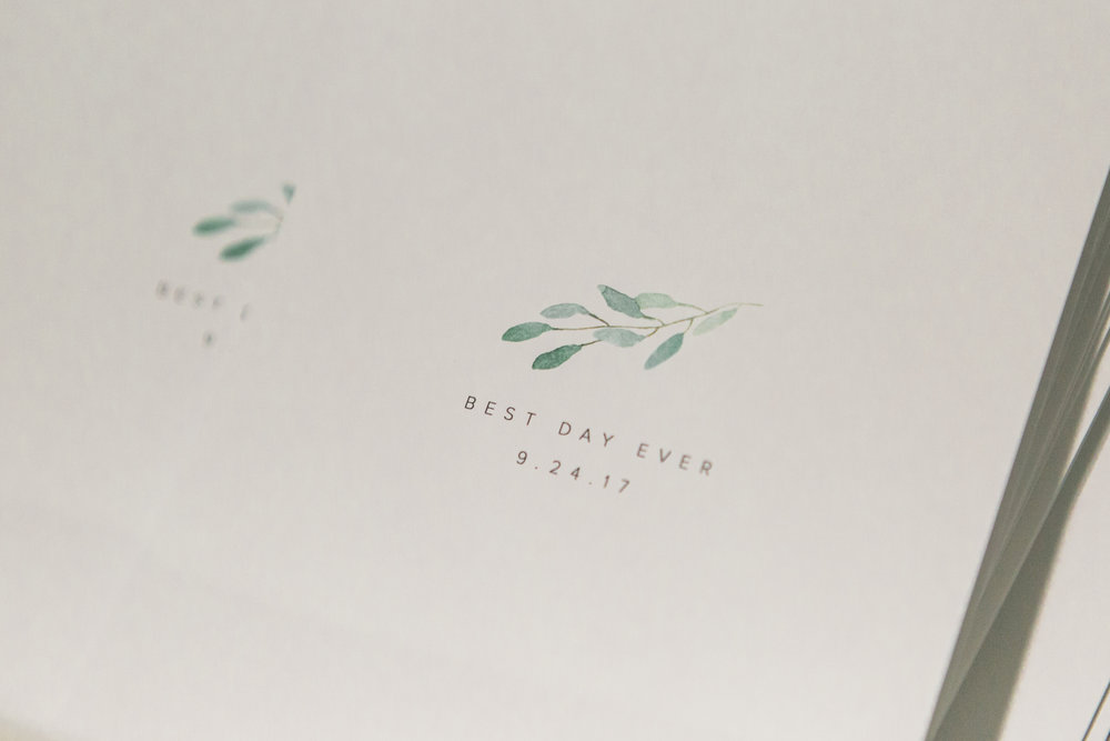Simple, Classic Wedding Programs