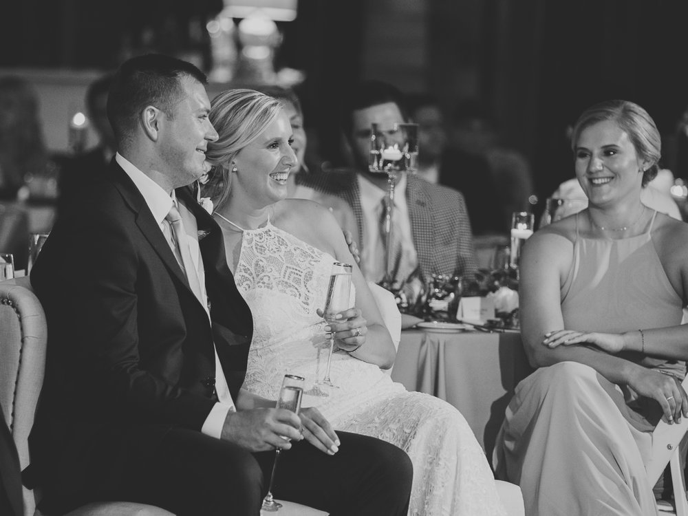 Bride and Groom Wedding Toasts