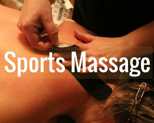 Book a 60-minute, 90-minute or 120-minute Sports Massage.