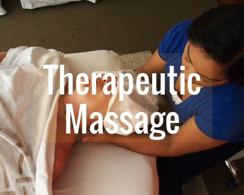Book a  60-minute ,  90-minute  or  120-minute  Therapeutic Massage.