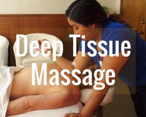 Book a  60-minute ,  90-minute  or  120-minute  Deep Tissue.
