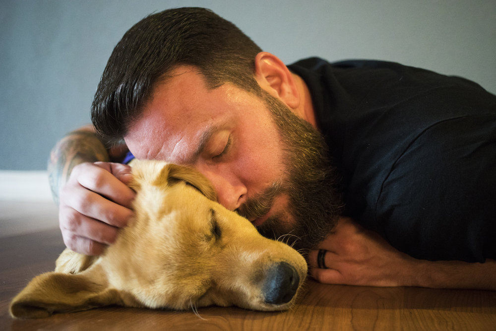 Josh Granada, 38, credits his therapy dog named Jack for allowing him to sleep for the first time since the Pulse Massacre.