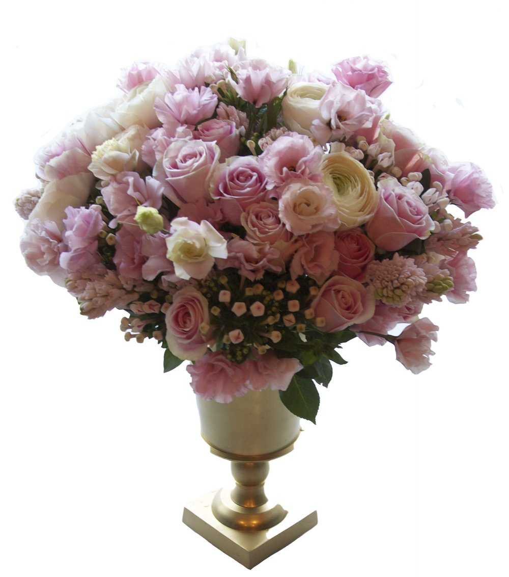 Luxe Rose and Hyacinth, from $850