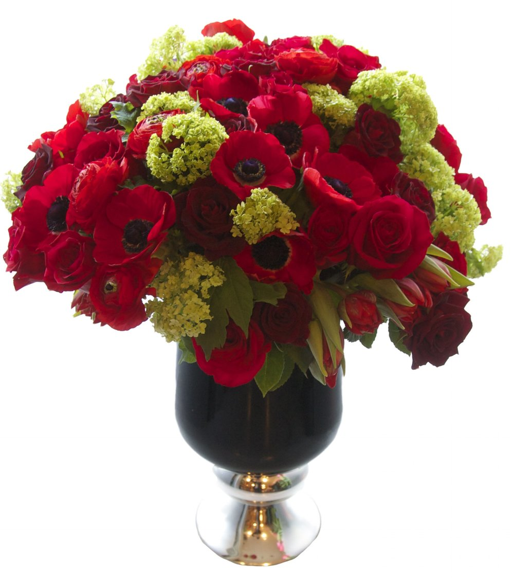 Luxe Anemone and Rose Mix, from $550