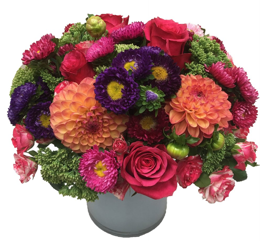Aster Dahlia Composition starts at $175