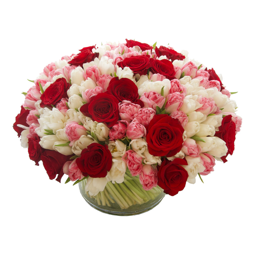 Luxe Rose and Tulip Mix starting at $475