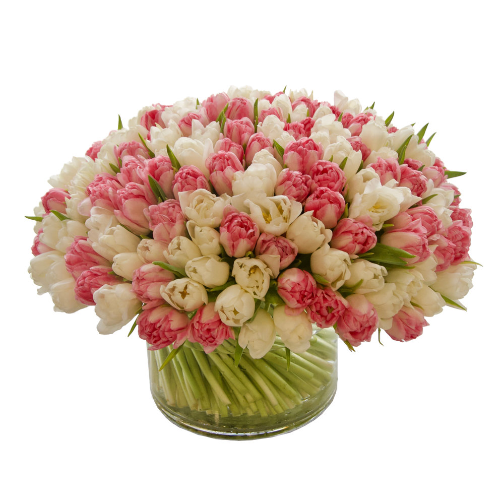 Luxe Double Tulip Mix from $475