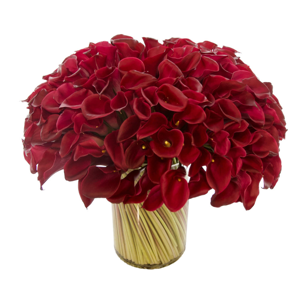 Luxe Red Calla from $800