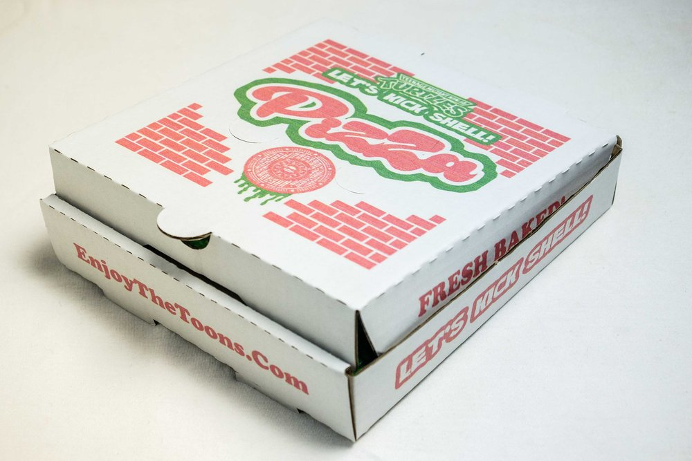 TMNT Pizza Box