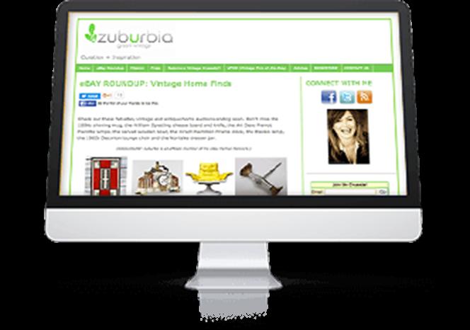 «Avec eBay Partner Network, je peux rivaliser avec des blogs qui ont des budgets marketing de 100 000 $. C'est très motivant d'avoir la possibilité de se développer et de créer de la valeur.» Mary Kincaid Founder Zuburbia.com