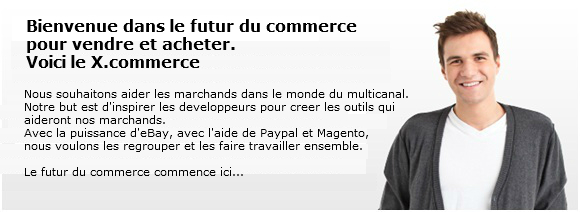 X commerce developpeur