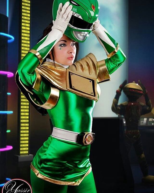 TEAM GREEN! which are you? #powerrangers #soniaralynn