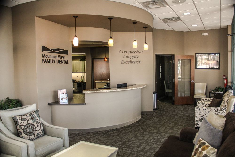 Visit the office of Mountain View Family Dental in Mesa, AZ.