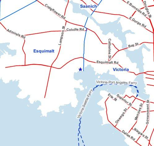 Location of Matson Conservation Area within Victoria Harbour MBS