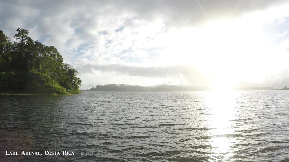 Lake Arenal Costa Rica Sunrise