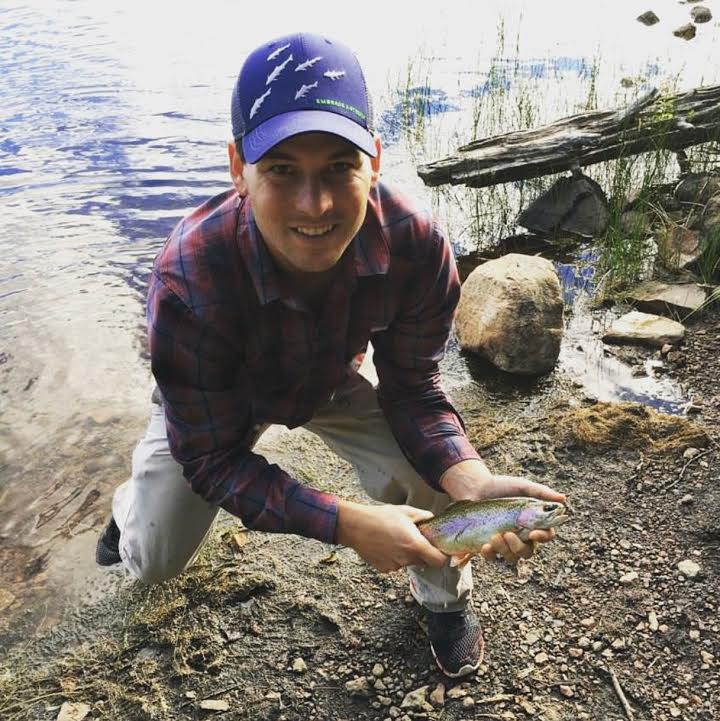Fishing Gunflint Trail