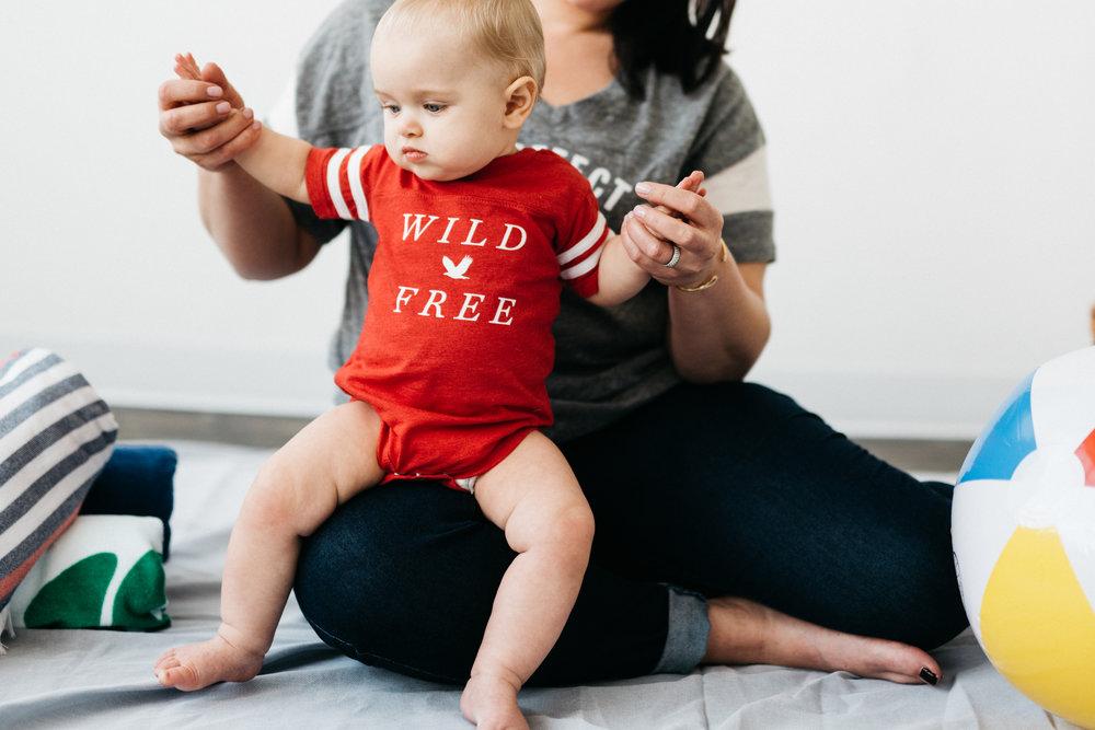 Wild & Free  Onesie
