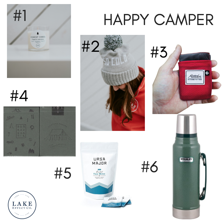 holiday gift ideas for camping and adventure lovers