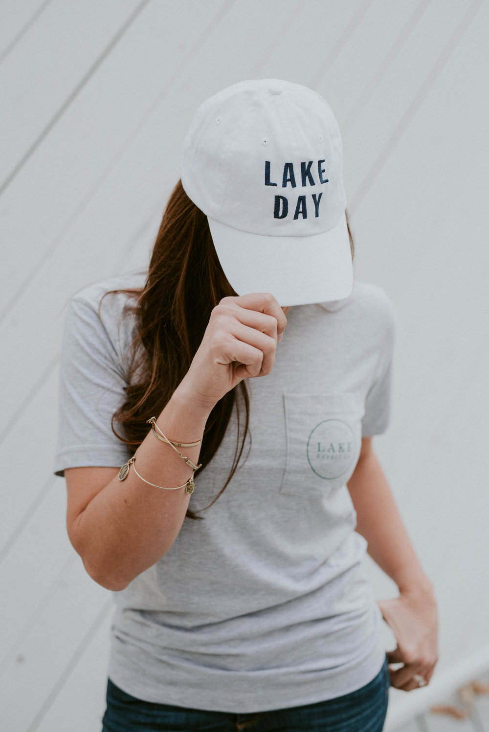 Lake Day hat. Lake Living and lifestyle clothing. Shop now!